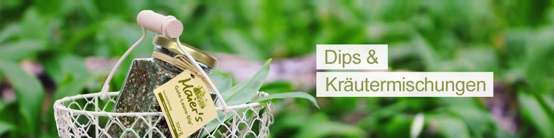 Banner- Dips-Kräutermischungen